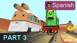 The Number Adventure (SPANISH) - Aprende los números en la fábrica de trenes - Parte 3