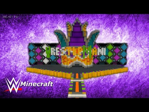 Xxx Mp4 WWE Minecraft WrestleMania 34 OFFICIAL Stage Download Link 3gp Sex