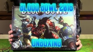 Blood Bowl 2016 boxed set unboxing video!
