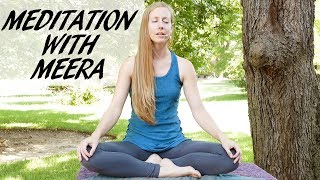 Ultra Relaxing Meditation with Meera ♥ Melt Away Stress & Anxiety, Sleep Aid, 11 Minute