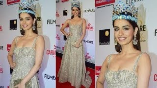 Miss World Manushi Chillar was clicked at the Filmfare Style & Glamour Awards 2017