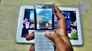 REAL TRANSPARENT MOBILE PHONE! Micromax X45 EXCLUSIVE Hands On REVIEW by Gadgets Portal HD