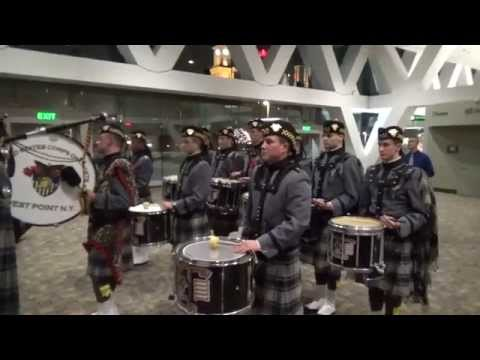 watch Army vs. Navy Pipes and Drums Battle of the Bands 2014 - March Medley