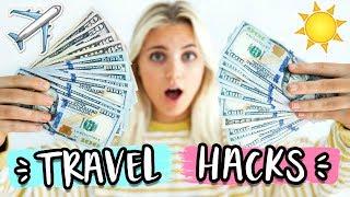 TRAVEL HACKS FOR SPRING BREAK! Travel for CHEAP 2018! | Aspyn Ovard