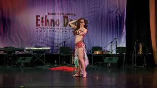 Anastasia Farida - oriental professional 6th International Oriental Dance Festival «Ethno Dance-2017