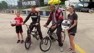 Green Bay Packers Quarterback Brett Hundley Visits Road America