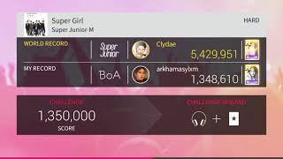 [SUPERSTAR SM TOWN] Super Junior - Super Girl (Hard)