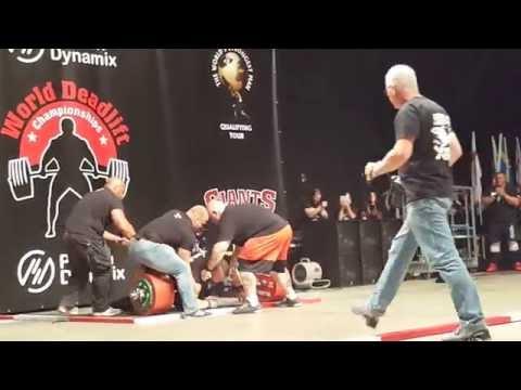Eddie Hall deadlift 500kg (1102.31lbs)