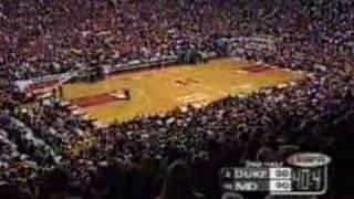 Duke vs. Maryland 2001 (Miracle Minute)