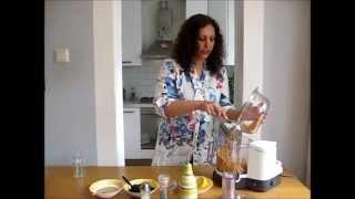 پیش غذای لبنانی (Hummus)