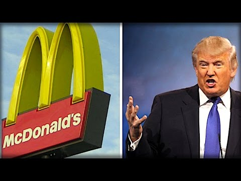 THROW OUT MCDONALDS MCDONALD'S IS RUINED AFTER WHAT THEY TWEETED ABOUT TRUMP THIS MORNING…