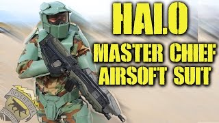 HALO Master Chief Airsoft Suit (Halloween Special 2015)