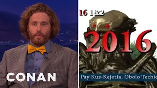 TJ Miller's Favorite Insane Movie Trailer  - CONAN on TBS