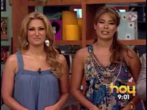 Gali regresa al Programa HOY. y dice k no esta embarazada