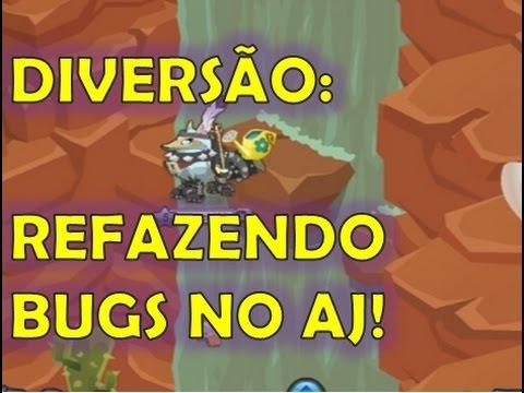 DIVERSÃO REFAZENDO BUGS NO ANIMAL JAM
