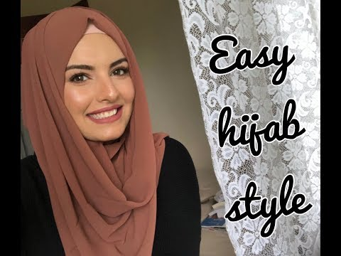 Hijab tutorial-Elegant & Easy