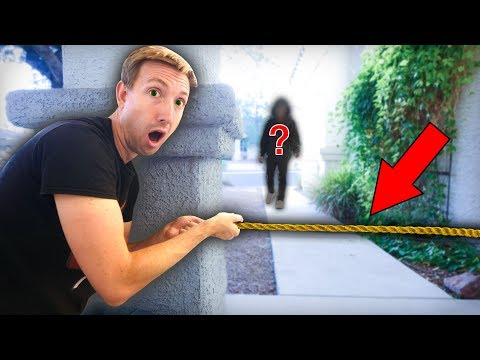 CAUGHT HACKER BREAKING INTO ABANDONED SAFE HOUSE on Camera Secret Mystery Box Treasure Found