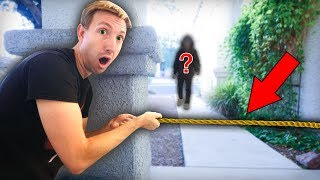 CAUGHT HACKER BREAKING INTO ABANDONED SAFE HOUSE on Camera (Secret Mystery Box Treasure Found)