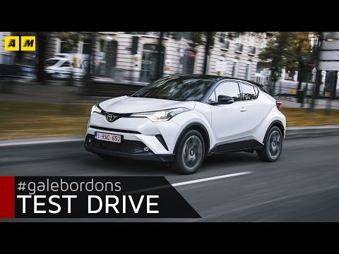 Toyota C HR Test drive AMboxing