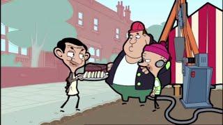 Roadworks | Mr. Bean Cartoon