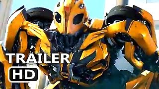 """TRANSFORMERS 5 """"Bumblebee VS Barricade"""" Promotion Trailer (2017) Action New Blockbuster Movie HD"""