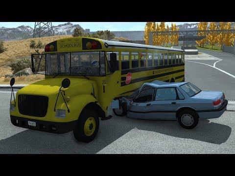 Xxx Mp4 School Bus Crashes 12 BeamNG Drive 3gp Sex