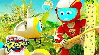 Space Ranger Roger | Toy Plane Lands in the Jungle | Cartoons For Children | Cartoons For Kids