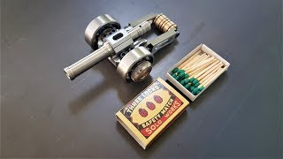 The Smallest Powerful Mini Cannon. Size Doesn
