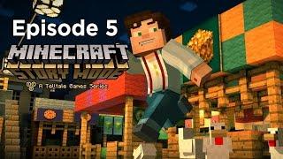 Minecraft: Story Mode - Episode 5 - Walkthrough/Playthrough Gameplay (NO COMMENTARY)