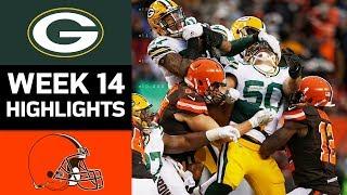 Packers vs. Browns | NFL Week 14 Game Highlights