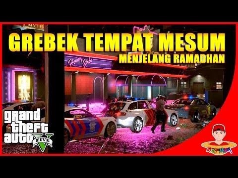 Xxx Mp4 GTA V MOD INDONESIA 10 Patroli Malam Grebek Tempat Karaoke😂 3gp Sex