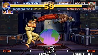 Tips vs Bosses Ryo vs Omega Rugal KOF 95