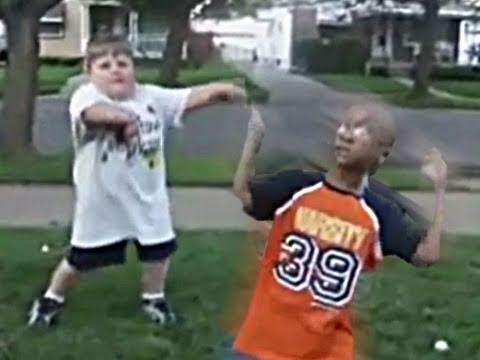 Funny Kids Dance Battle REMIX