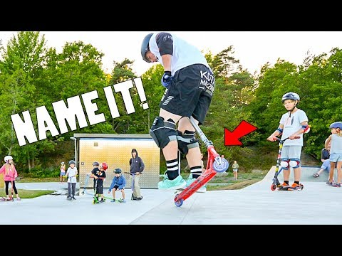 NAME THIS SCOOTER TRICK!