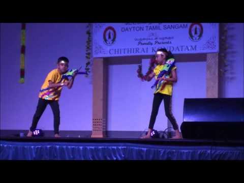 Dayton Tamil Sangam - Chithirai Kondatam - 1960's to 2010's Dance