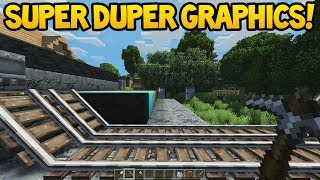 Minecraft Console - SUPER DUPER GRAPHICS PACK!