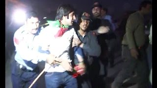 Police storm PTI youth convention in Islamabad