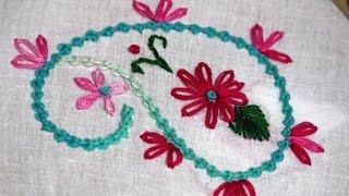 Hand Stitch: Bead Stitch ( Flower )/ হাতের সেলাই : গুটি সেলাই