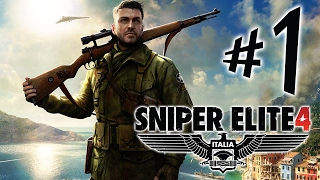 Sniper Elite 4 Italia - Parte 1: Headshot Nos Maledetos!!!! [ PC - Playthrough ]