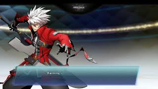 BlazBlue: Cross Tag Battle - English Dub STORY MODE - first 5 minutes