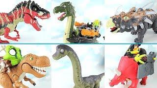 Real Dinosaurs Transformation Dinosaur Robot! T Rex, Brachiosaurus Toys~ Walking Dino For Kids.