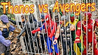 Thanos vs Avengers + Spiderman - Hulk, Thor, Black Panther, Iron Man Full Fight Part 2