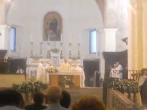 Santa Marina - Cav. De Lisa - Mons. De Luca - 35° annniversaio della morte di Mons. Pezzullo