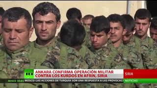 Rusia, EE.UU. y Turquía discutieron la operación de Ankara contra los kurdos sirios