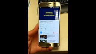 Check Sam s6 dual SIM g920fd 4g 32gb gold boudouda