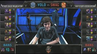YOLO vs SWAG - the URFitational Grand Finals | 2015 April Fools LoL URF mode match