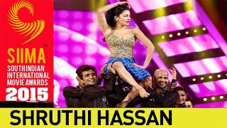 Shruti Hassan Sizzling Dance Performance || SIIMA 2015 Awards || Telugu