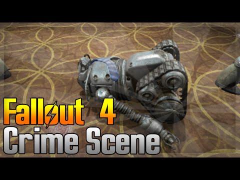 Fallout 4 Far Harbor: Brain Dead Quest - Searching The Crime Scene For Clues