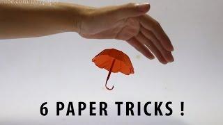 6 Amazing Paper Tricks !
