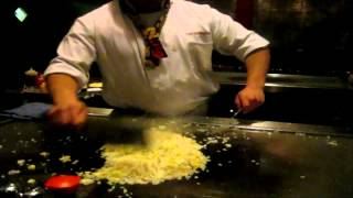 Hibachi Grill footage of my night out
